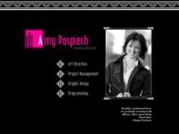Art Deco Homepage Design Concept