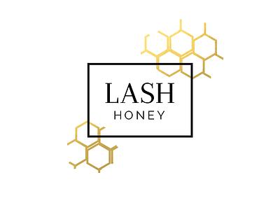 Lash Honey Branding v1 boho branding esthetician gold elegant