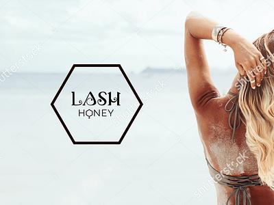 Lash Honey Branding v3 chic boho beach