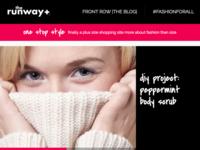 therunway+ Blog