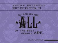 Social Media Graphic Series - Bonkers