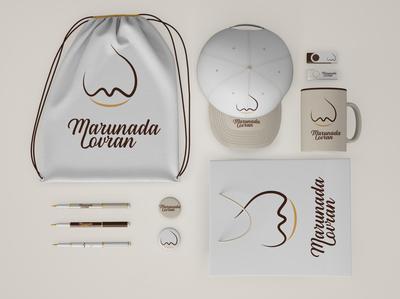 Marunada redesign merch mockup