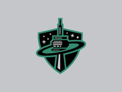 Toronto Planets / Day 7 / August Rebranding Project shield stars sportsbranding cn tower logo hockey roller hockey planets toronto