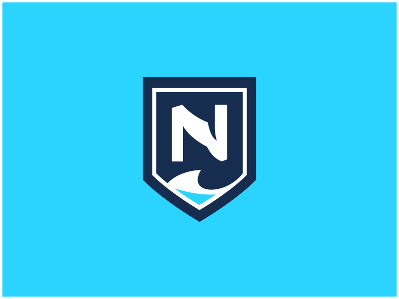 Nanaimo Islanders / Day 15 / August Rebranding Project nanaimo islanders wave shield n sports logo sports branding hockey whl