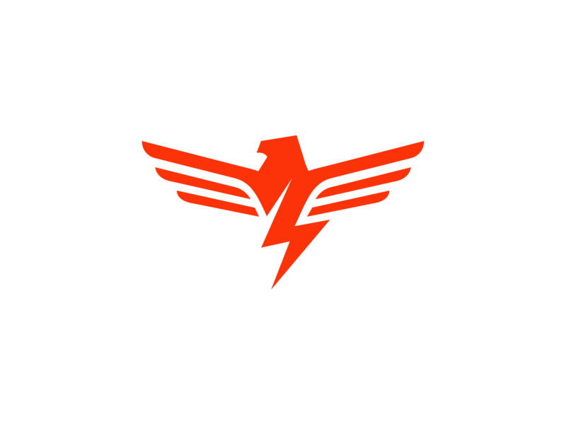 Hamilton Thunderbirds / Day 22 / August Rebranding Project bird canada logo wings wing lightning thunder ontario hamilton baseball sports logo sports sports branding
