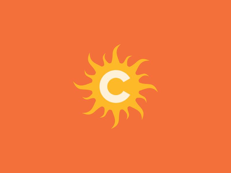 Connecticut Sun / Day 23 / August Rebranding Project connecticut logo sports sports logo sports branding basketball wnba sun