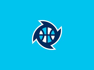 Halifax Hurricanes / Day 27 / August Rebranding Project blue hurricane nbl nba sports sports design sports logo sports branding canada halifax basketball