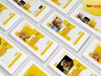 burgure app design for fatmonk studio
