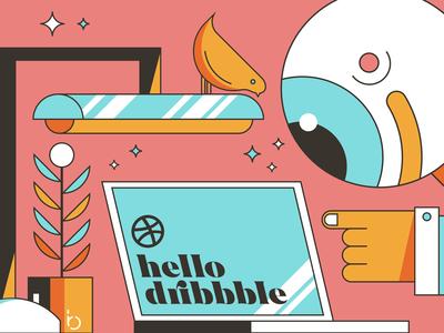 hello dribbble...
