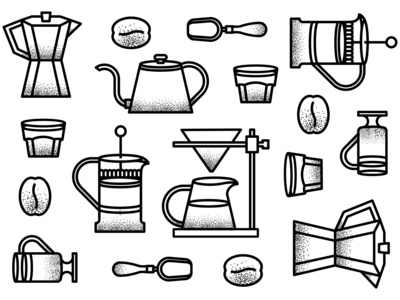 cophea icon set/pattern
