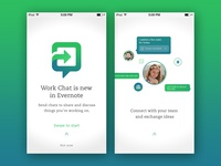 Work Chat FLE - iOS