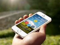 App concept for Camino de Santiago