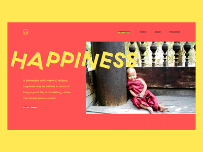 brutalist happiness hey folks website brutalism ui happiness red yellow