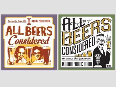 All Beers Considered T Shirt Designs vector design illustration