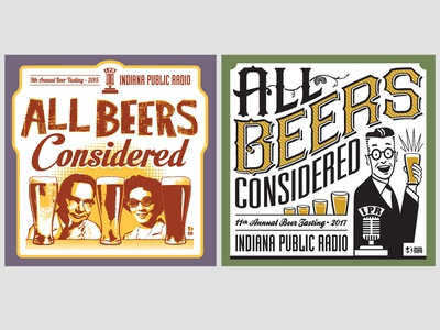 All Beers Considered T Shirt Designs