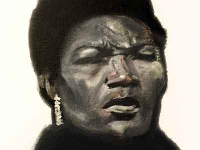 "Illustration - Willie Mae ""Big Mama"" Thornton"