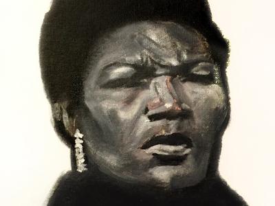 "Illustration - Willie Mae ""Big Mama"" Thornton"