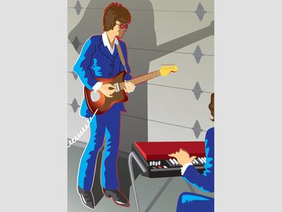 Illustration - Book Cover vector illustration