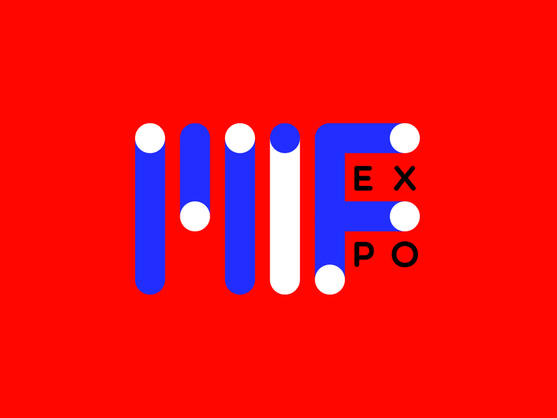 Made In France Exposition colors graphic minimal graphicdesign vector branding brand identity logo logotype