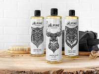 Packaging Illustration for Alpine Provisions