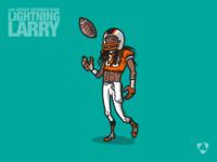 "Lightning Larry ""Trading Card"""