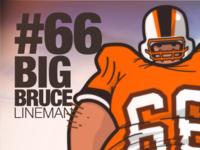 """Big Bruce """"Poster"""""""