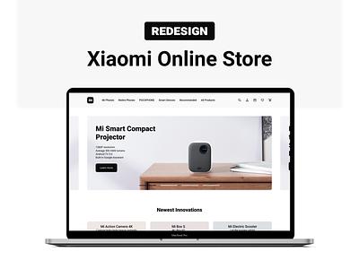 Xiaomi Online Store Redesign xiaomi