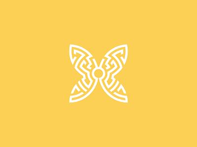 ORIA wellbeing logo mark journey butterfly australian logo vector logomark wellbeing