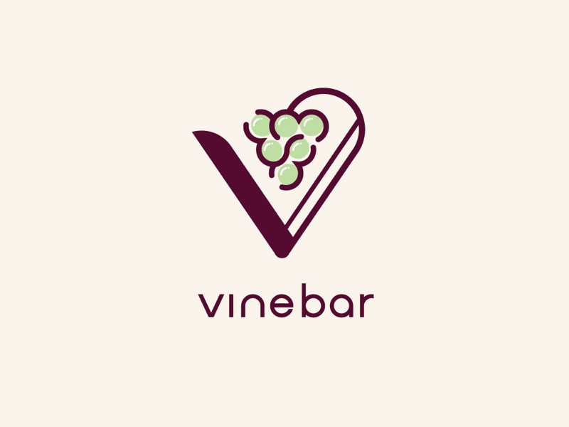 Wine Bar Logo logo icon vector illustrator photoshop