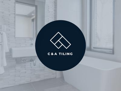 C & A Tiling monogram