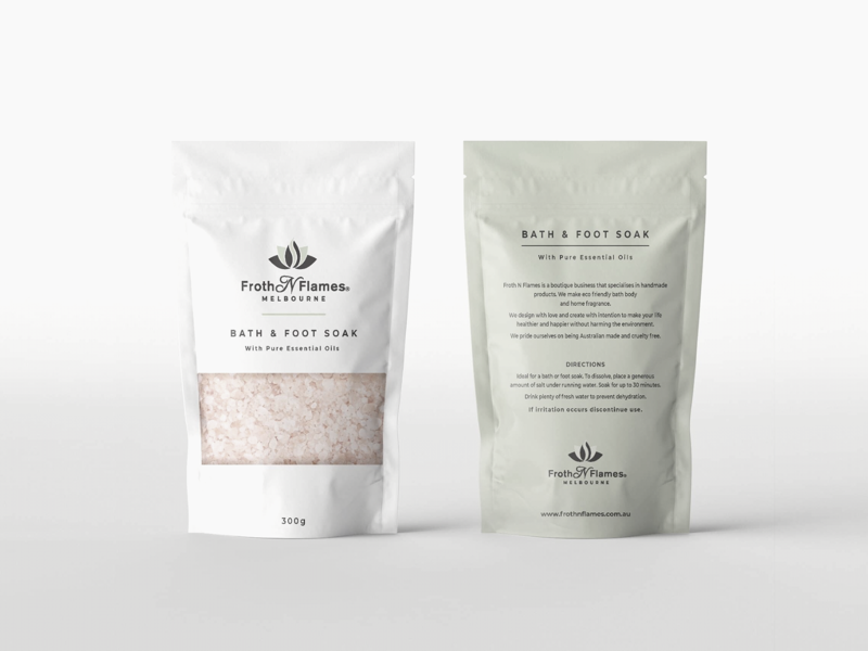 Pouch package design product strategy brand australia minimal simple design packaging