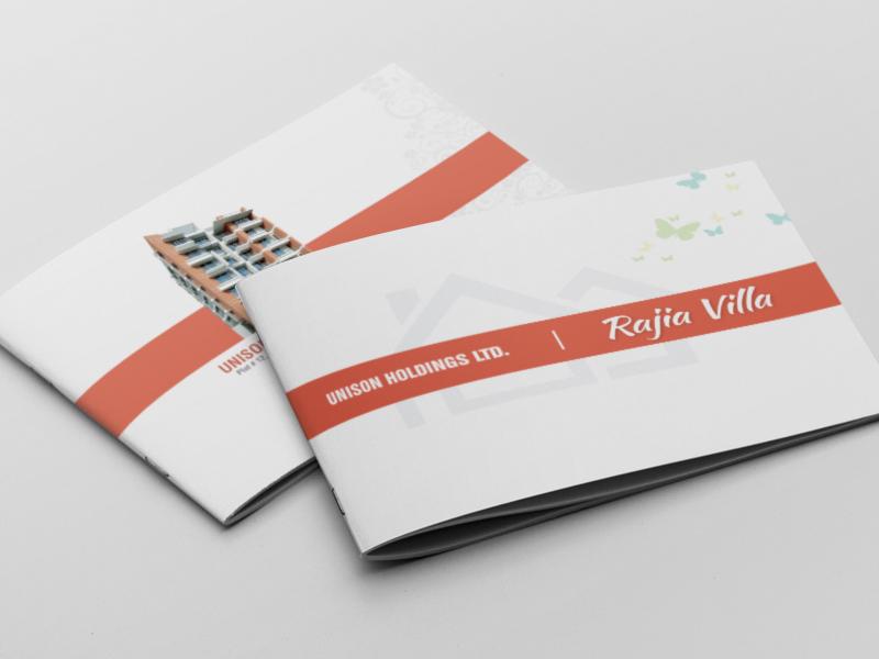 Brochure brochure print real estate