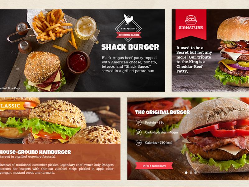Free Burger Restaurant Template burger restaurant template free burger website template psd free freebie burger restaurant