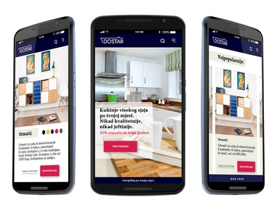 Furniture Company mobile app