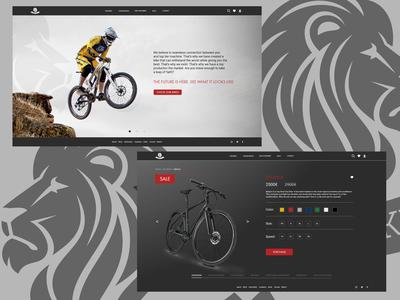 Bikeshop web