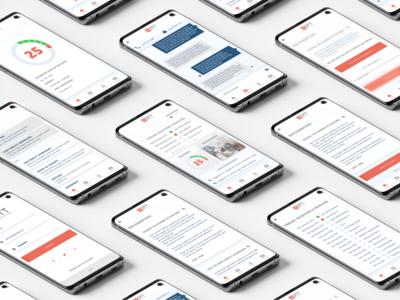 Corporate App Design