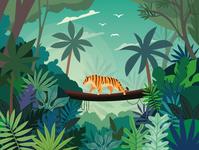 Jungle Illustration 🌿