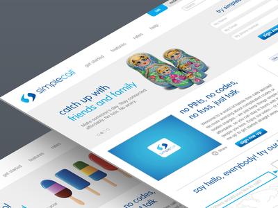 Website Design for Simplecall