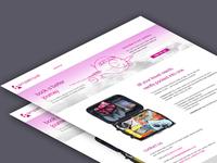 Simple Travel website design