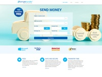 Website Design and develop for Simple Transfer