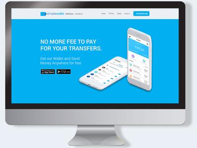UI UX Design for Simple wallet