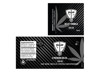 G2 CBD Labels