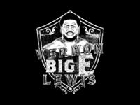 Big E tee design