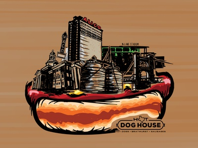Hot Doghouse design