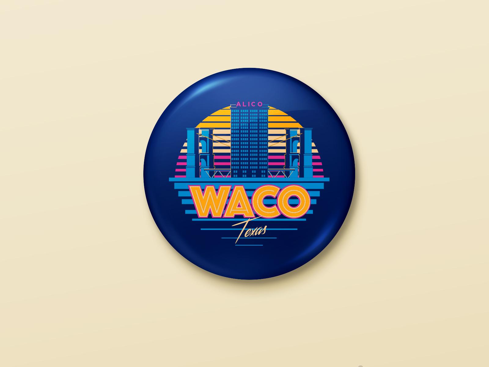 Rwpin button badge mock up