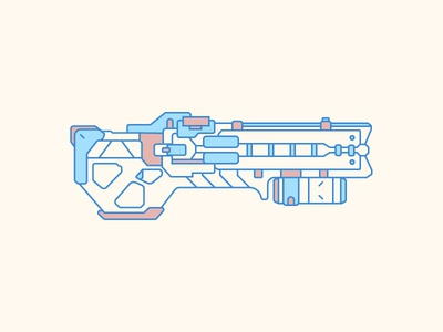 Soldier 76 Weapon