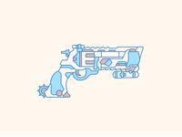 McCree Blackwatch Revolver