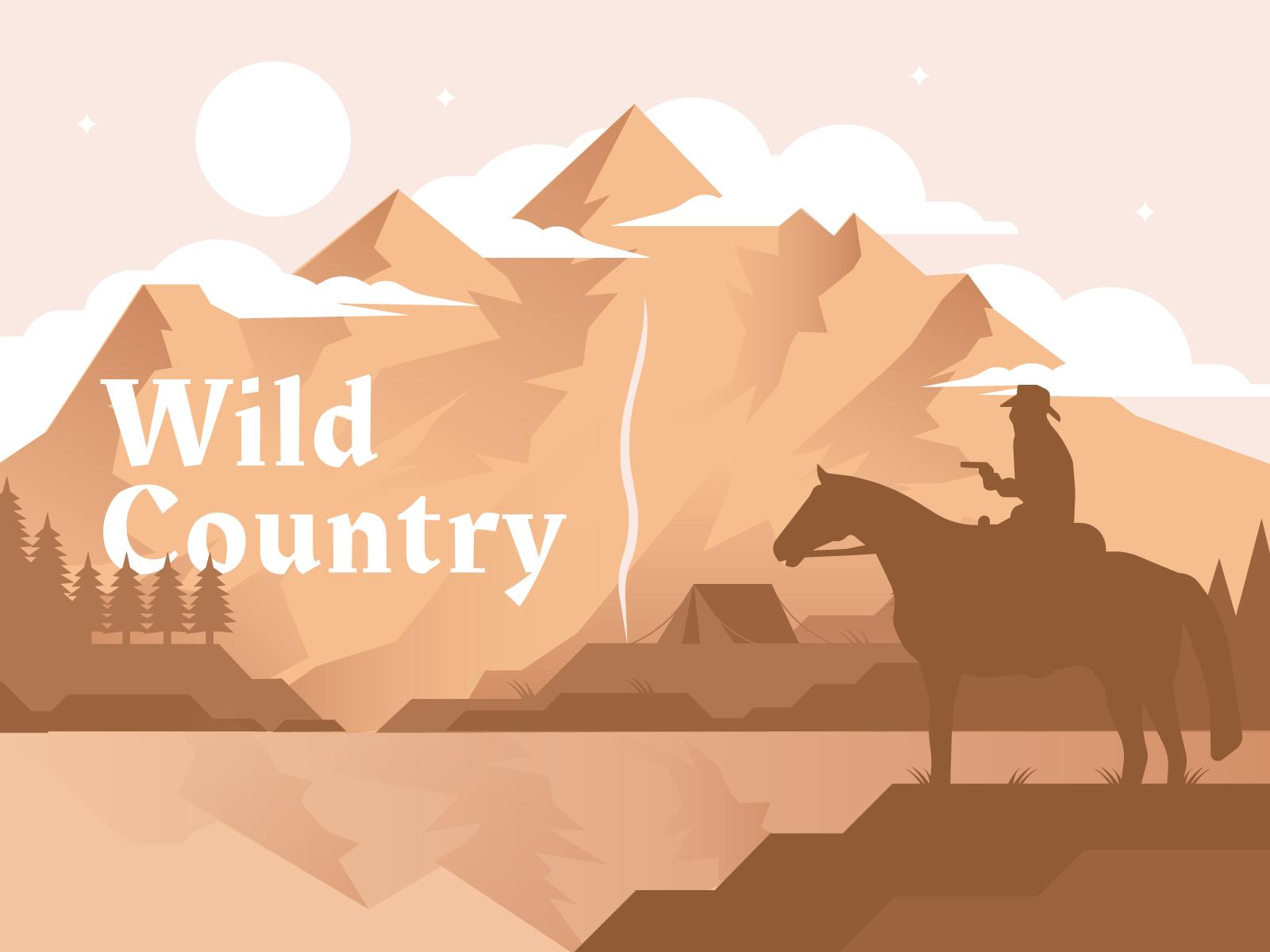 Mountain illustration dribbble 01