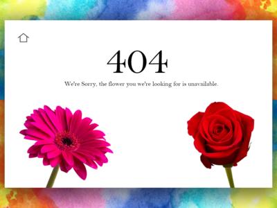 Daily UI - 404 error 008