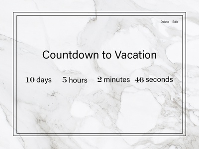 Daily UI - Countdown 014